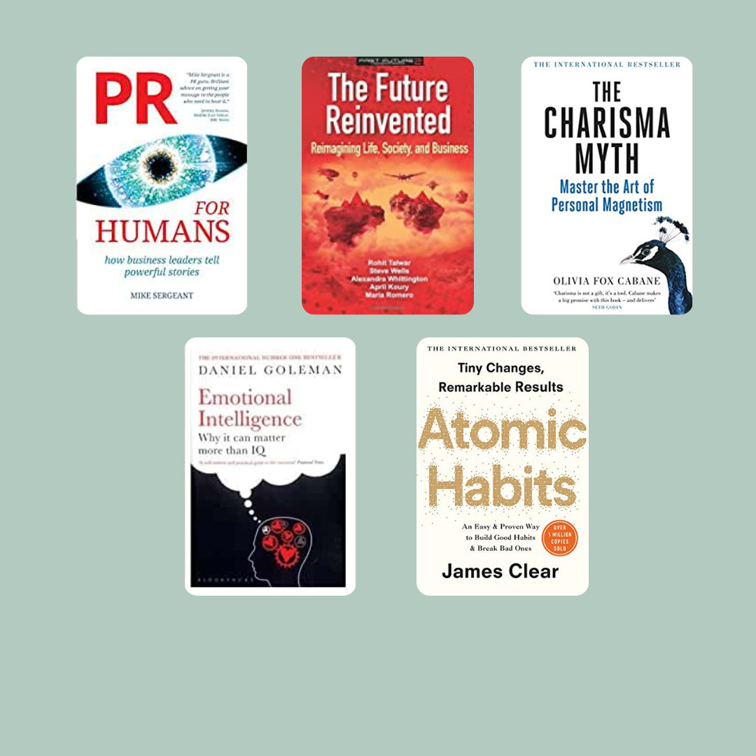 My top five business books read in 2020
